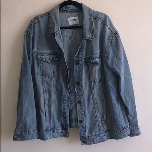 Oversized Demin Jacket
